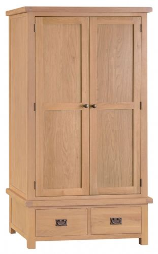 Cornish Oak Gents Wardrobe